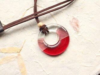 【再販】 ガラス製 和の装い リングペンダント 其の弐の画像