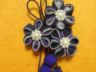 バレッタ「 紫星」の画像