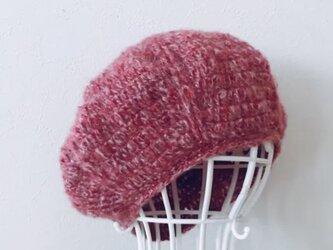 送料無料‼️モヘアのまあるいニット帽の画像