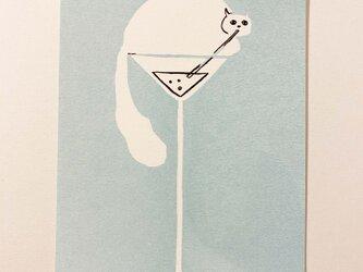 ポストカード ソーダ水(アクア)の画像