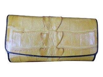 シャムクロコ(クロコダイル革)レディース・メンズ財布の画像