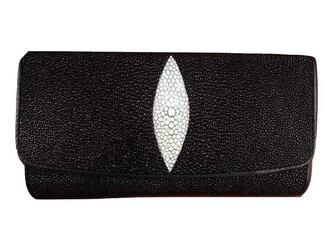 ガルーシャ(エイ革)レディース・メンズ財布 二つ折りの画像