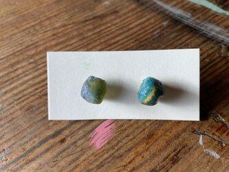 とんぼ玉ビーズのピアス2の画像