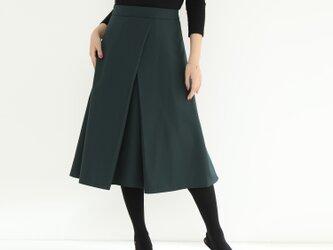 16色展開 タック スカート☆オーダーメイド可の画像