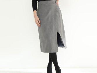 ウール100% スカート☆オーダーメイド可の画像