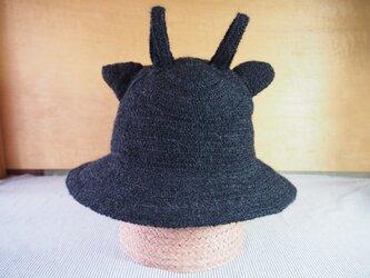 阿修羅風耳帽子の画像
