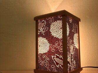 伊勢型紙の灯り A-7の画像
