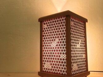 伊勢型紙の灯り A-11の画像