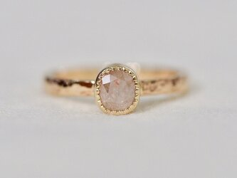 Baby pink diamond ringの画像