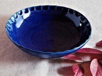 瑠璃釉中鉢の画像