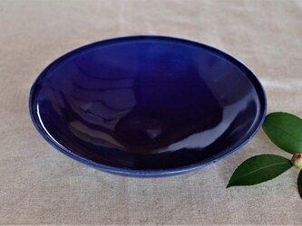 瑠璃釉中鉢 リムの画像