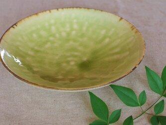 ヒワ灰釉中鉢の画像
