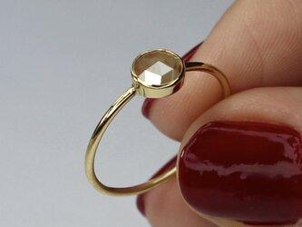 Natural Brown Diamond  Ring / K18YGの画像