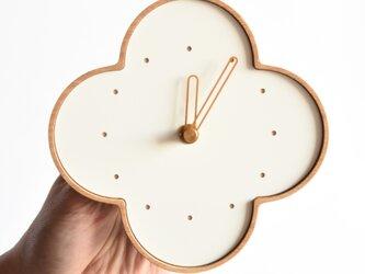 ならの壁掛時計の画像