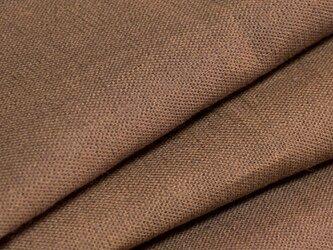 【オリジナル・108×100cm】カットクロス 生地 柿渋染め A色 [日本製] 綿スラブ織キャンバス VY5KS-1-Aの画像