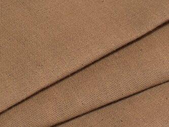 【オリジナル・108×100cm】カットクロス 生地 柿渋染め D色 [日本製] 綿スラブ織キャンバスVY5KS-1-Dの画像