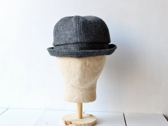 SAILOR HAT | SHAGGYWOOL c/#DARKGRAY【56~59cm】の画像