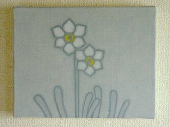 【原画】花は少女(ニホンスイセン)の画像