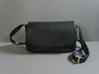 plain shoulder bag ( black )の画像