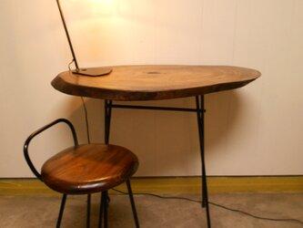 けやきアイアンテーブル(テーブルのみ)12-14の画像