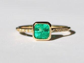 Emerald Ring / K18YGの画像