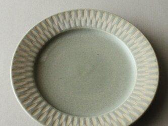 6寸リム皿 ライトペパーミントの画像