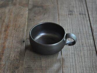 スープカップ/黒の画像
