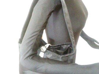 アップサイクル帯バッグ Upcycled Obi Bag 1909260003 ワンハンドル A4サイズの画像