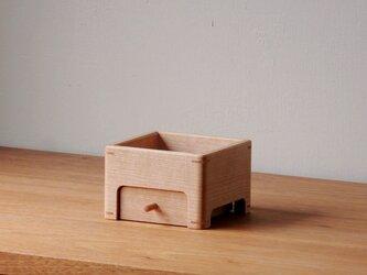 マカバ/ブナの小物入れの画像