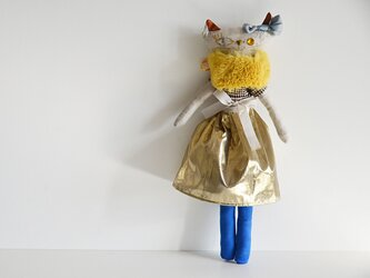 プペ ネコの女の子 「おしゃれ大好きなパリジャンヌ ミミ」の画像