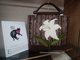 カサブランカのバッグ◆泥大島◆送料無料の画像