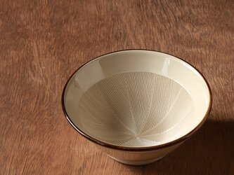 すり鉢4.5号(ふちライン入り)の画像