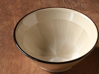 すり鉢6号(ふちライン入り)の画像