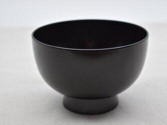 小汁椀 黒漆の画像