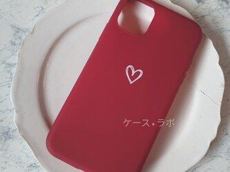 iphone11*スマホケース ハート iPhoneケース iPhoneXR iPhone11pro iPhoneXSの画像
