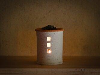 【予約販売】茶香炉(おうち)- ミニ(シロ)※抗菌や消臭、風邪予防にも◎の画像