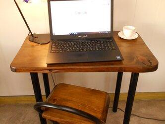 ひのきアイアンテーブル12-16(テーブルのみ)の画像
