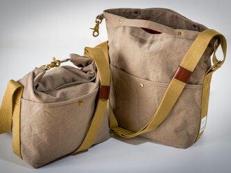 SUI ROLL SHOULDER BAG(washべ−ジュ)[受注生産]の画像