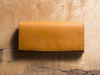 Basic Long Wallet #マスタードの画像