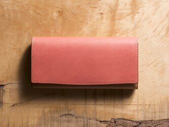 Basic Long Wallet #コーラルの画像