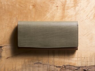 Basic Long Wallet #エレファントグレーの画像