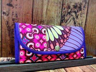 848アフリカパーニュ長財布の画像