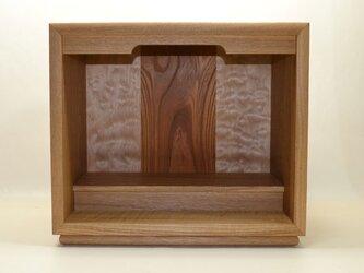 箱型ミニ仏壇 オーダー製作の画像
