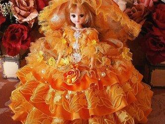 オレンジミルフィーユ 花の妖精 スイート バブリング ドールドレスの画像