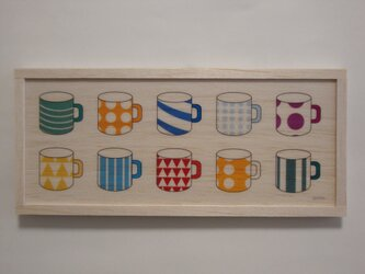 colourful cupの画像