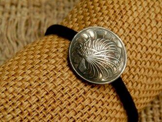 #H92 Singapura Coin Hair Elasticの画像