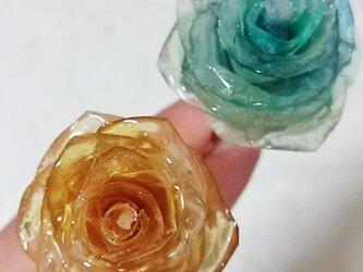 バラのかんざしの画像