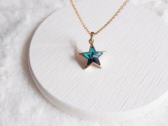 流れ星ネックレスの画像