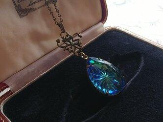 ヴィンテージ Sapphire/Peridot Prism-Star (pear)ネックレスの画像