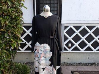 着物リメイク 手作り 留め袖 ワンピースの画像